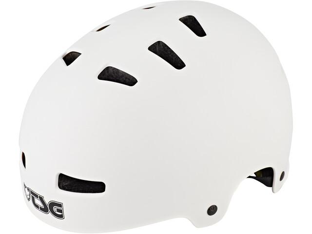 TSG Evolution Solid Color Casco, blanco